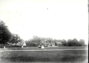 Ickwell Green in 1873 [X758/1/17/34]